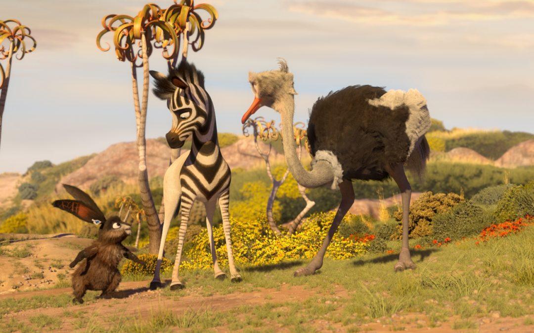 ZeBrAsTrEiFeN: Khumba – Das Zebra ohne Streifen am Popo