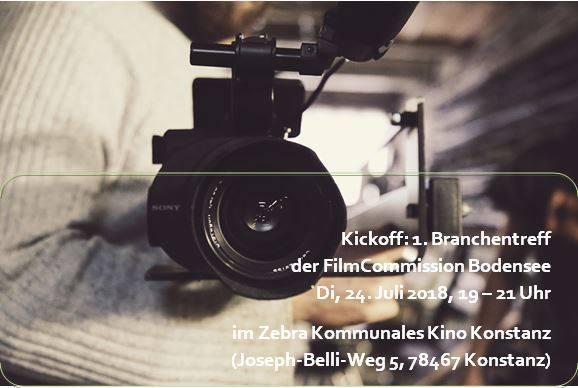1. Branchentreff für Filmschaffende der Bodenseeregion